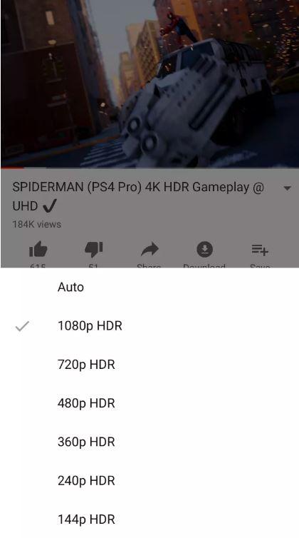 iPhone XS e iPhone XS Max possono accedere ai contenuti YouTube in HDR 1
