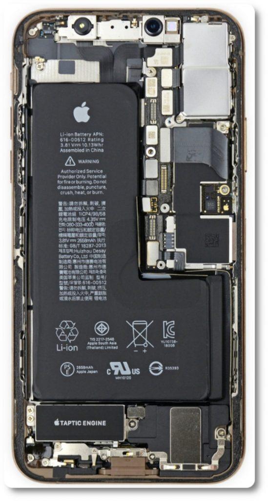 Ecco (in parte) perché ci vogliono 599 euro per riparare il retro di un iPhone Xs 1
