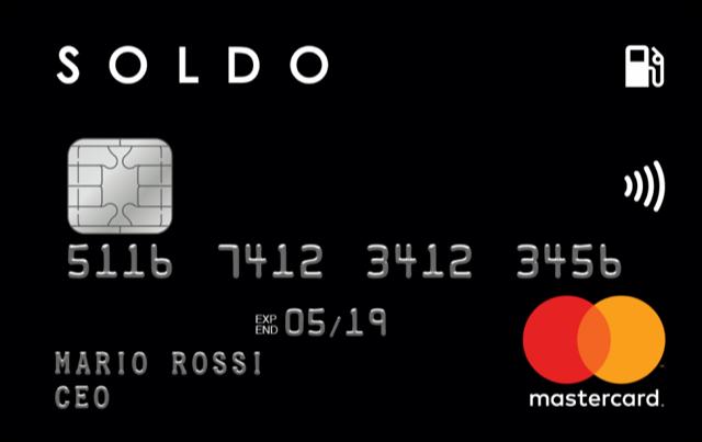 Soldo Drive è qui: ecco la carta carburante elettronica legata al circuito MasterCard 2