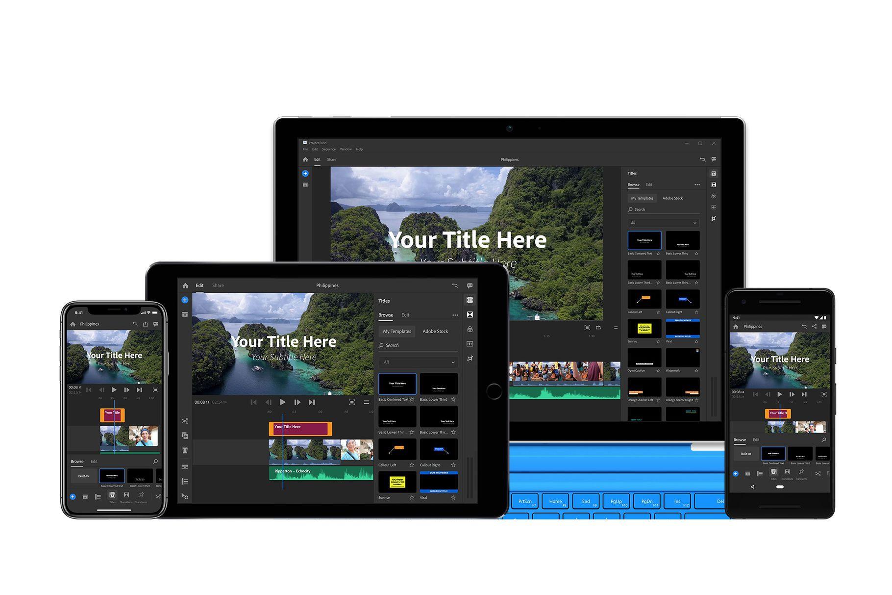 Primo sguardo ad Adobe Photoshop per iPad e al nuovo Premiere Rush CC 1