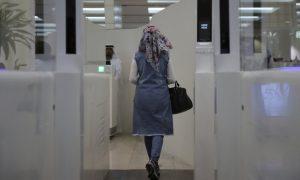 Aeroporto Dubai scanner iride tunnel smart