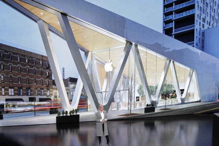 Apple Store Today at Apple