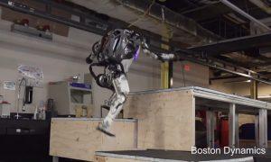 Atlas Boston Dynamics robot Parkour