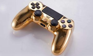 DualShock 4 oro