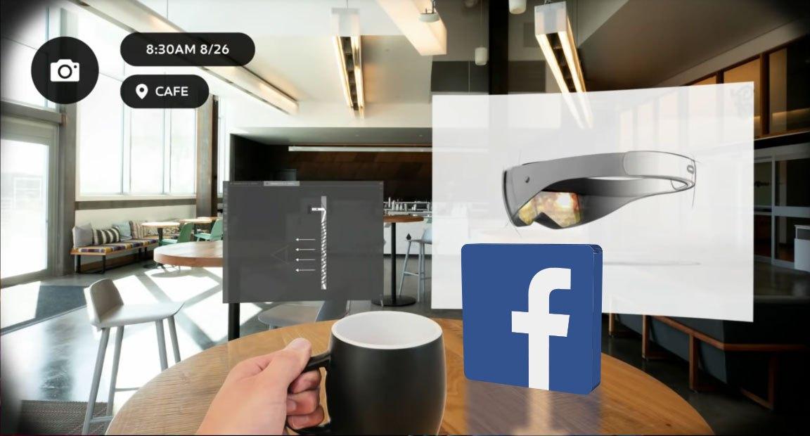 Facebook conferma che sta lavorando a degli smart glass per la AR 1
