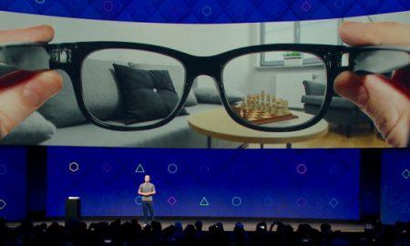 Facebook smart glass AR