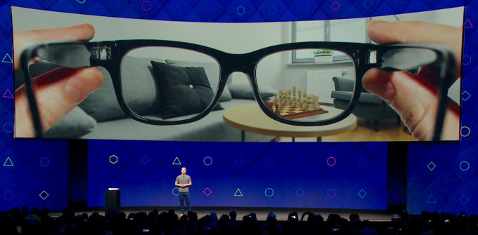 Facebook smart glass AR