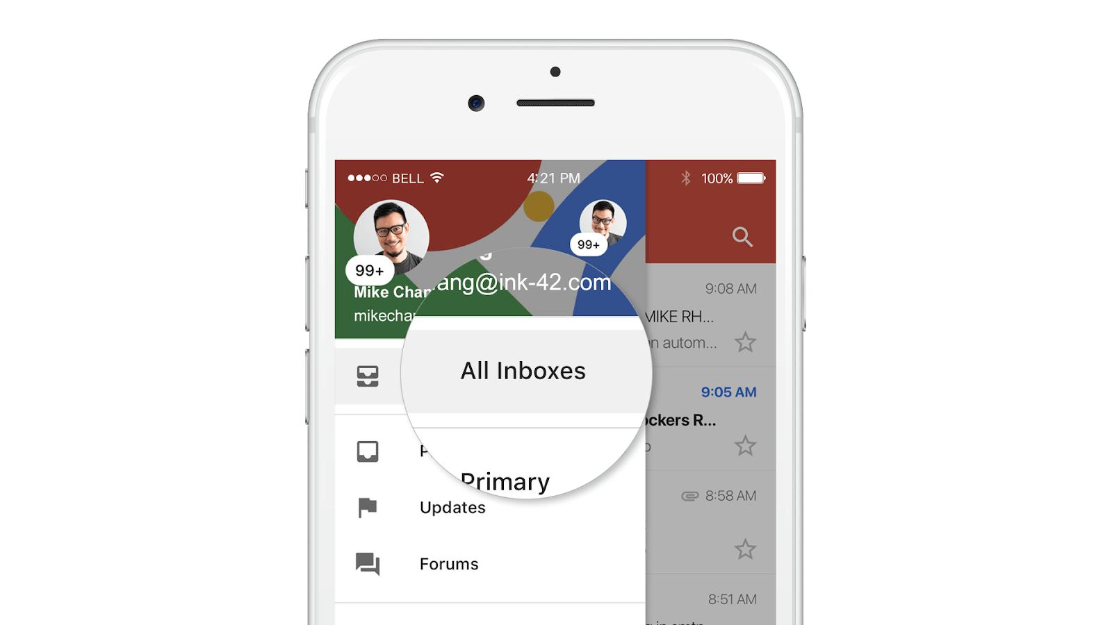 Gmail per iOS
