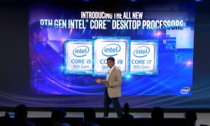 Intel Core i5-9600K, Core i7-9700K e Core i9-9900K