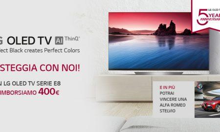 LG OLED TV promozione
