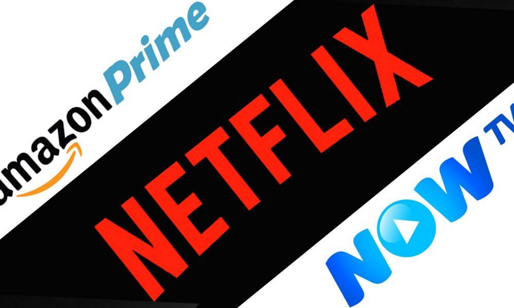 Netflix vs Amazon Prime Video vs Now TV