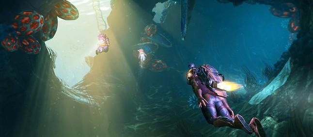 Disponibile il DLC gratuito The Abyss di No Man's Sky 1