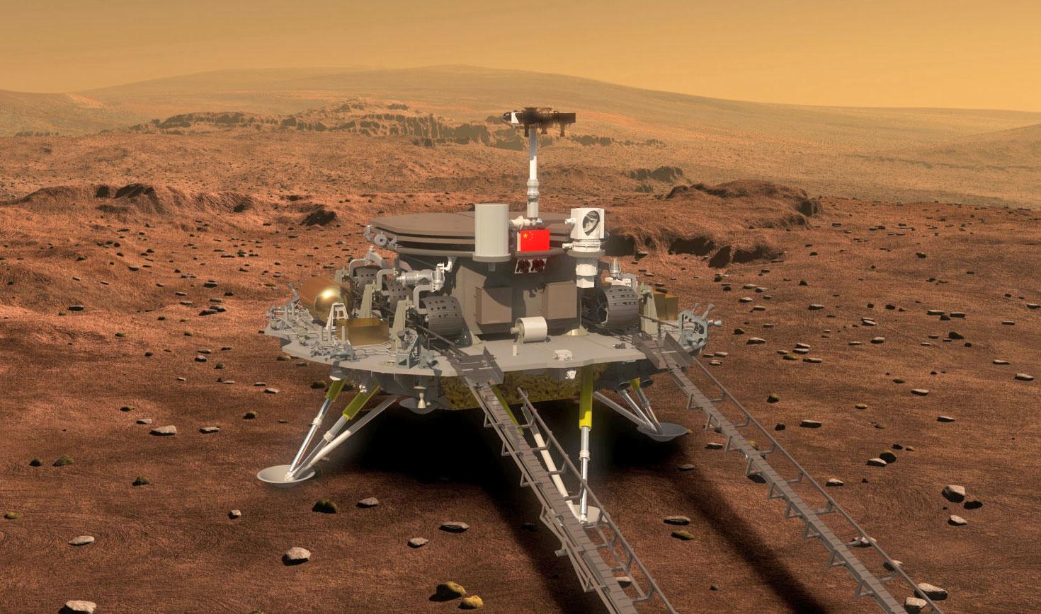 Rover cinese per Marte