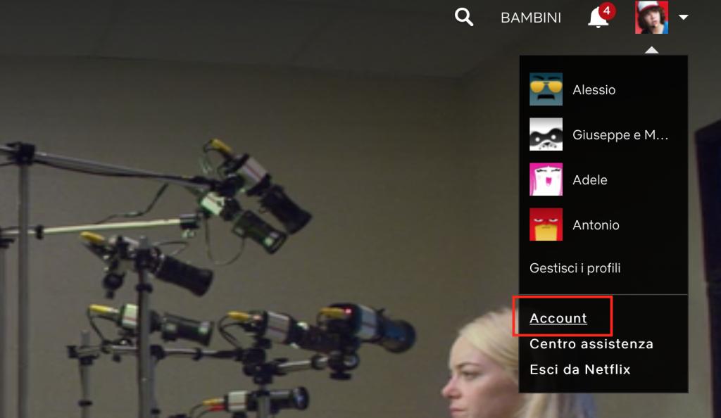 Come disdire Netflix, interrompere l'abbonamento 2