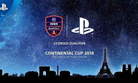 Sony PS4 FIFA 19 Continental Cup 2018
