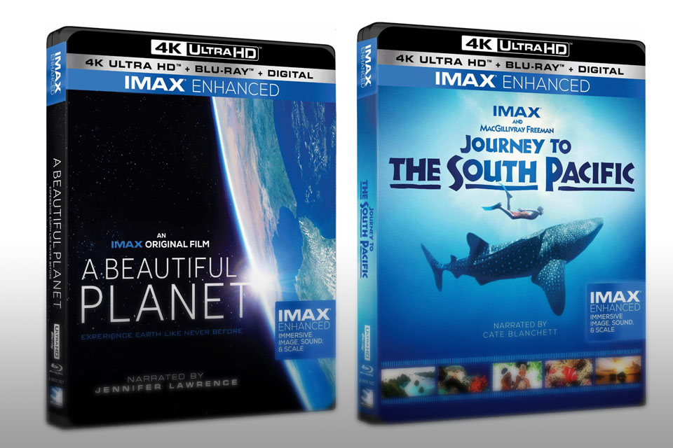 Ultra HD Blu-ray IMAX Enhanced con HDR10+