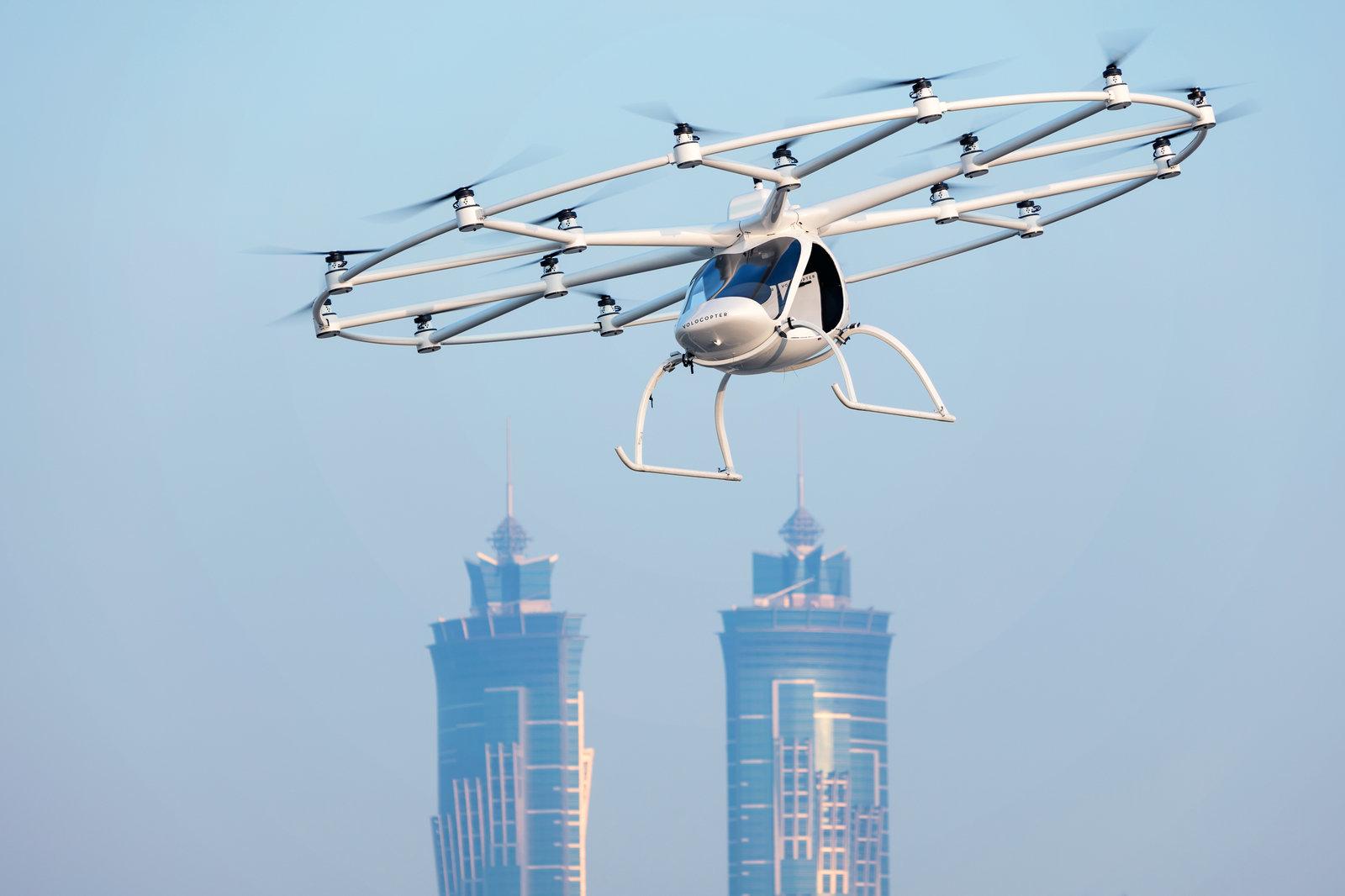 Volocopter taxi volanti
