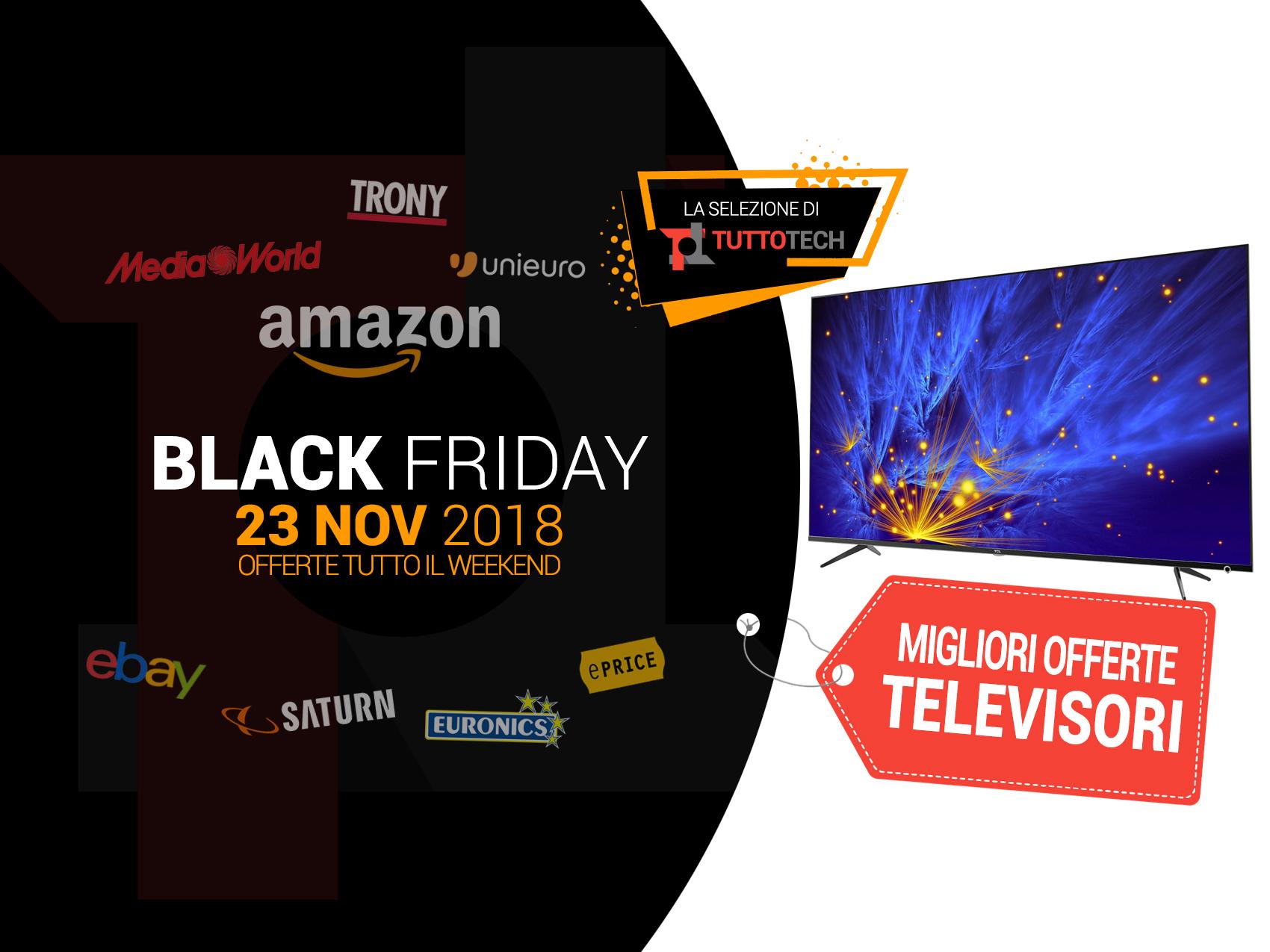 18c4b4678722fc TV Black Friday: le migliori offerte in tempo reale   TuttoTech.net