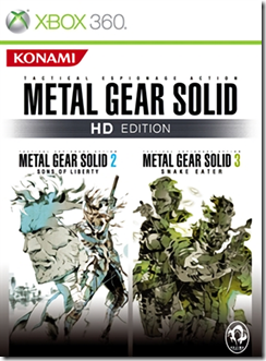 Xbox One ora retro compatibile anche con Metal Gear Solid 2 e 3 HD 1