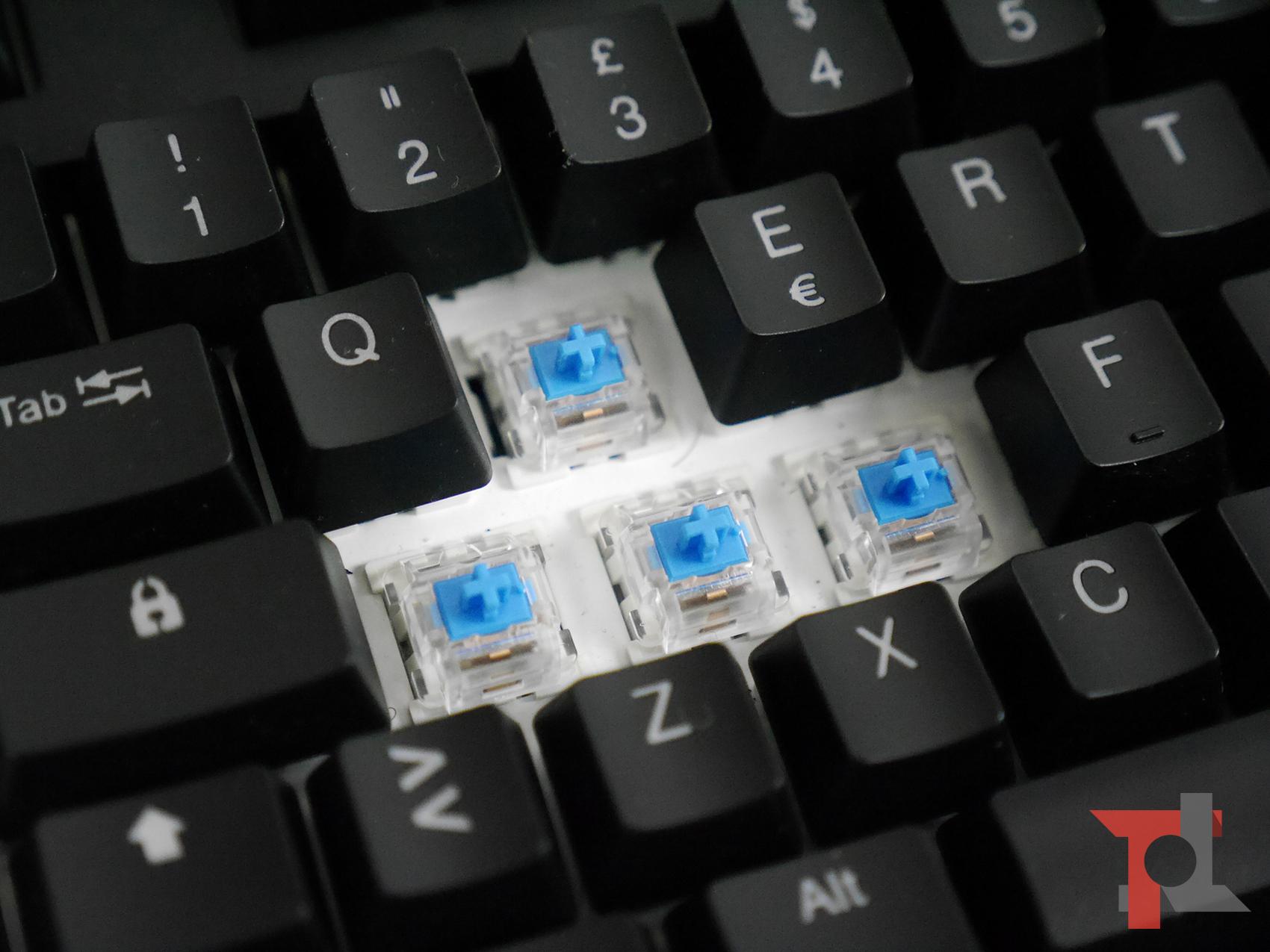 Recensione Tronsmart TK09R: un'ottima tastiera meccanica RGB a meno di 60€ 5
