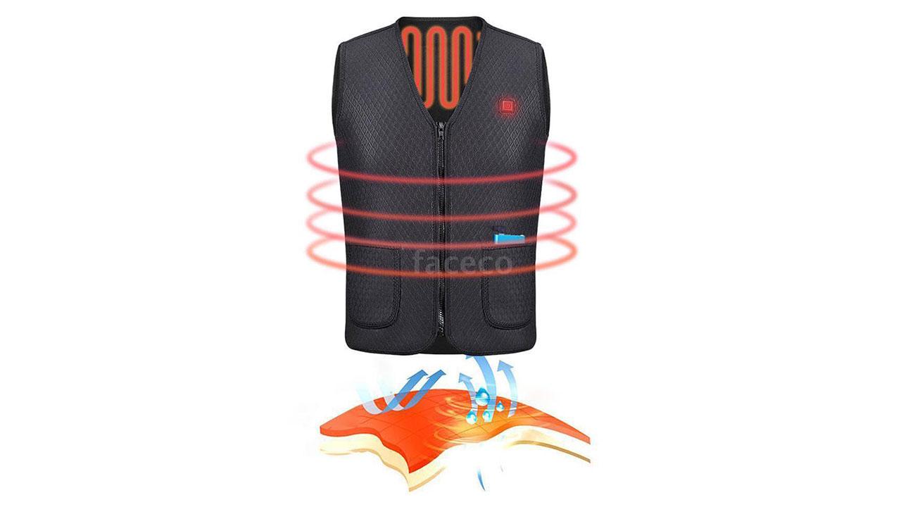 Sul mercato la giacca smart riscaldata via USB e dal costo di soli 20 euro 1