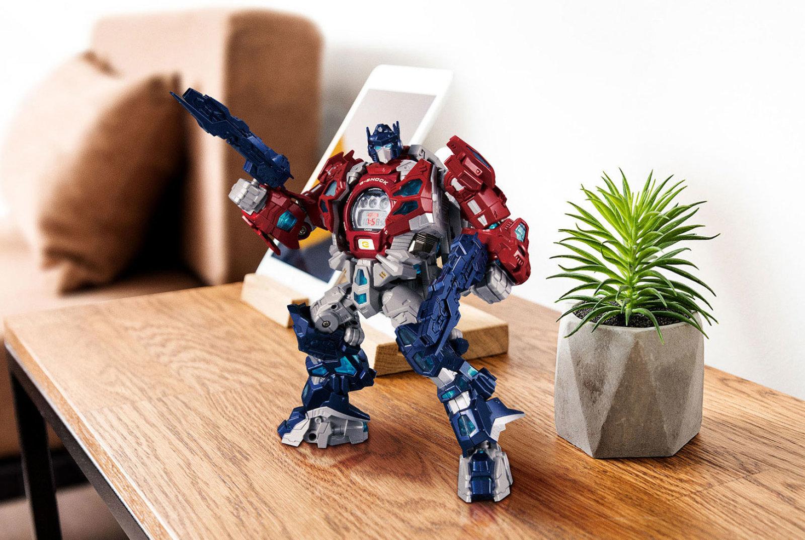 Casio Transformers G-Shock