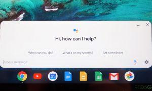 Chrome OS Chromebook Google Assistant