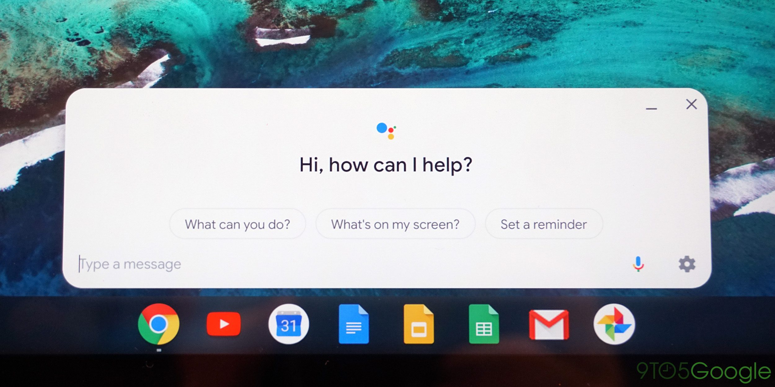 Chrome OS Chromebook Google Assistant