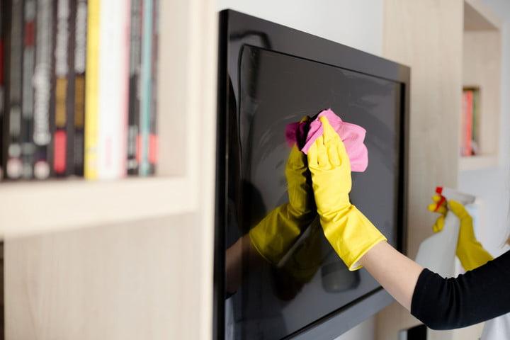 Come pulire il televisore 1