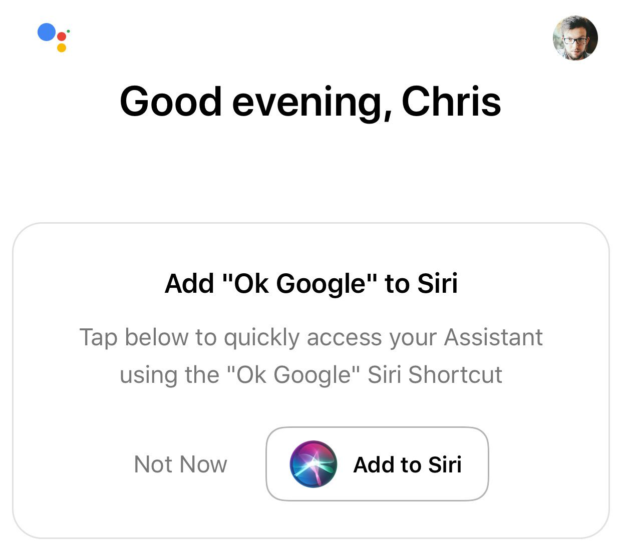 "Google ha lanciato una ""Siri Shortcuts"" per Google Assistant 1"
