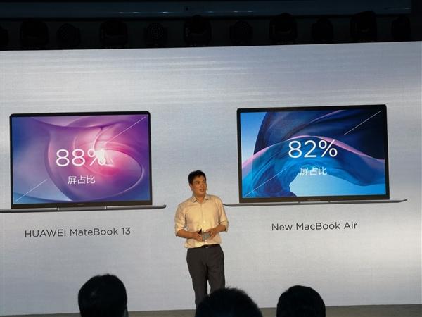 Huawei MateBook 13 ufficiale con maggiore potenza di MacBook Air nonostante le dimensioni inferiori 2
