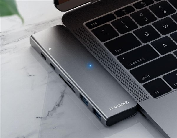 Hub USB Type-C 7-in-1 per MacBook da soli 20 euro (1)