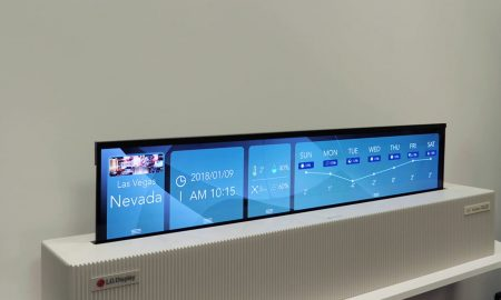 LG TV OLED arrotolabile