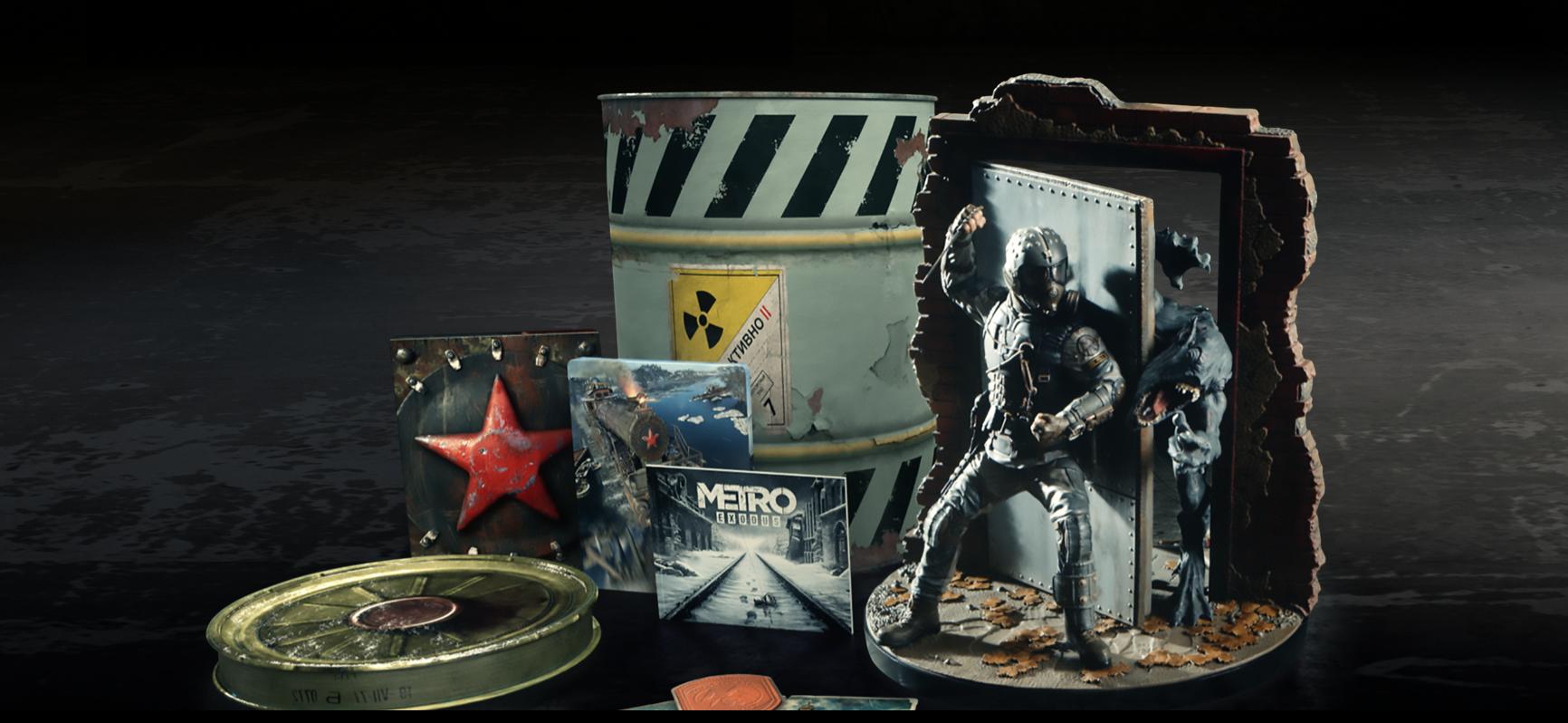 Metro Exodus Spartan Collector's Edition