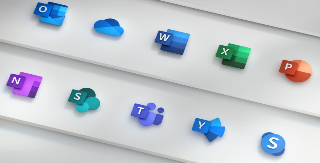 Microsoft Office icone redesign