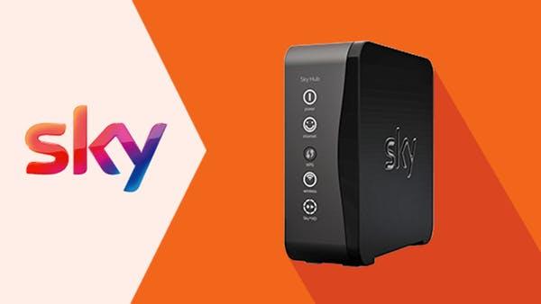 Sky Hub modem libero