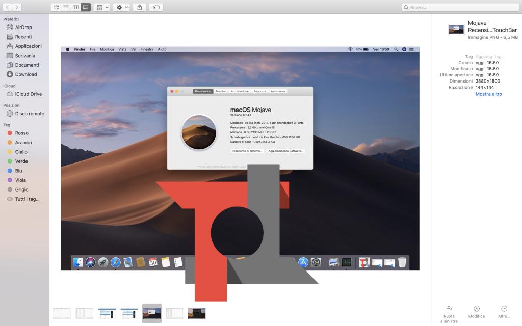 Recensione MacBook Pro 13 Touch Bar 2018: la macchina (quasi) perfetta 11