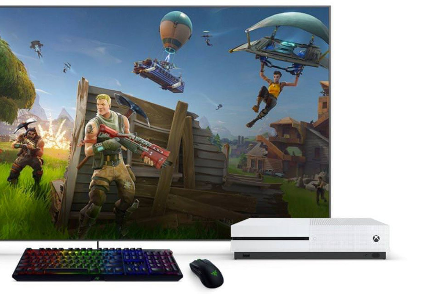 Xbox One tastiera Fortnite