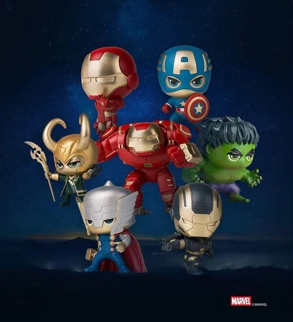 Da Xiaomi anche delle action figure in ottone degli Avengers 1