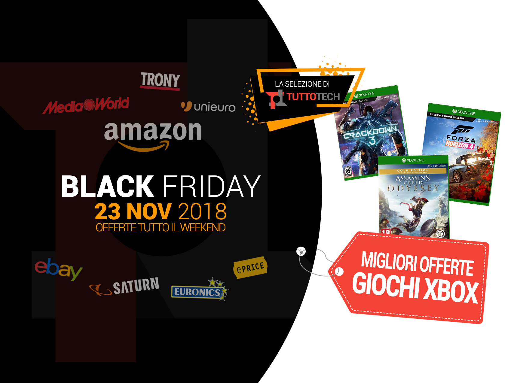 Offerte Giochi Amazon Black Friday 2019