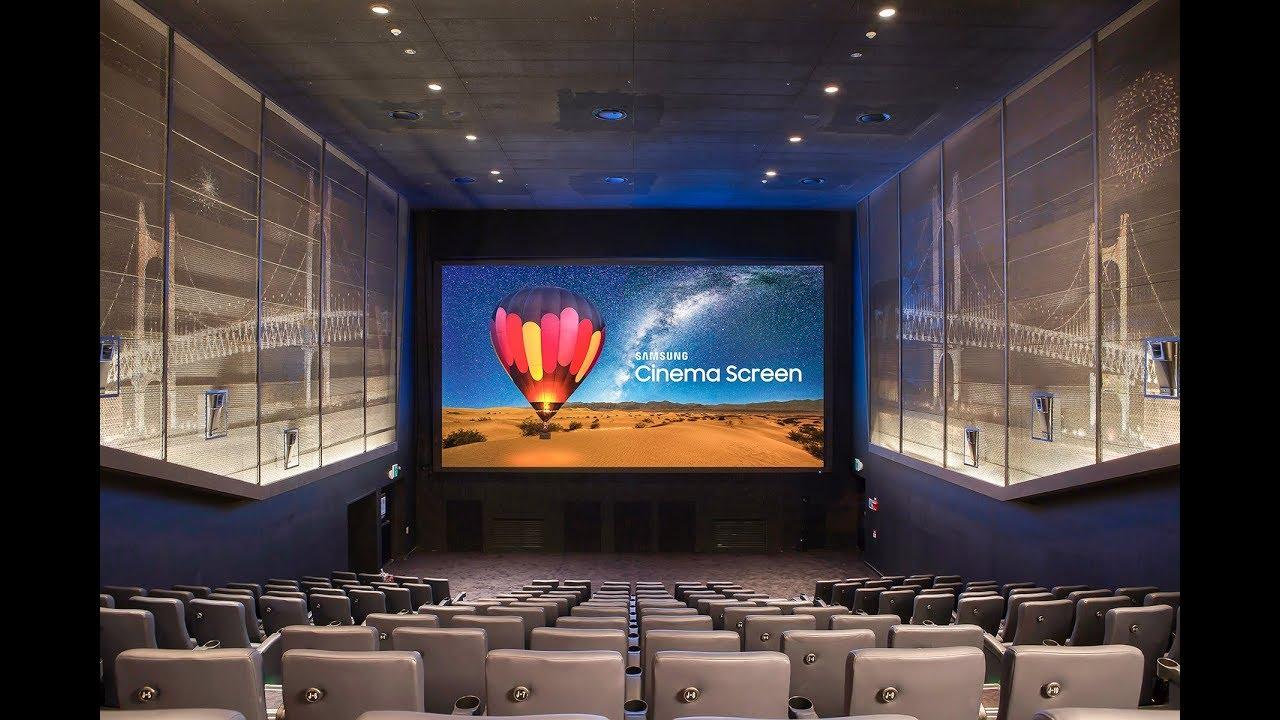 cinema HDR microLED Samsung