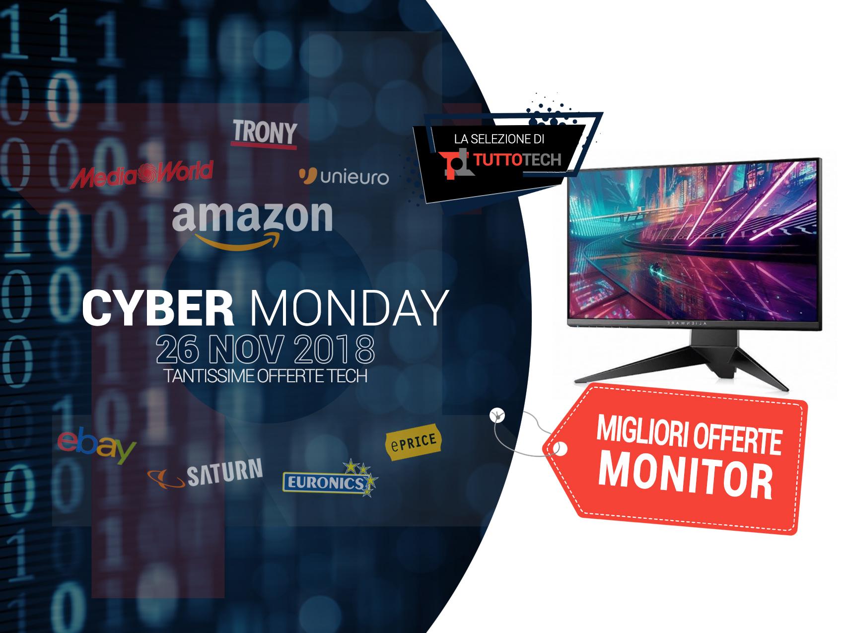3f0d7af12a853d Monitor Cyber Monday: le migliori offerte in tempo reale   TuttoTech.net