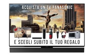 Panasonic Smart TV Fai un salto di qualità