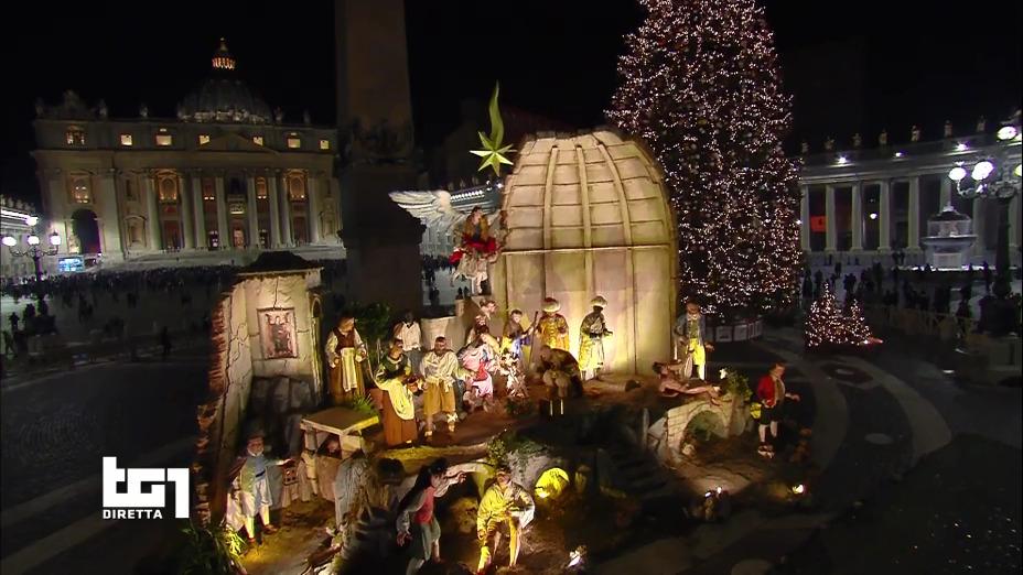 Messa di Natale 2018 con Papa Francesco in diretta dal Vaticano