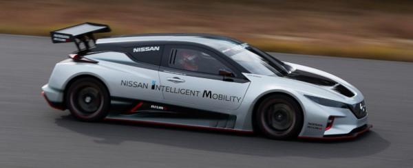 Nissan LEAF anche in versione NISMO RC con doppio motore elettrico 1