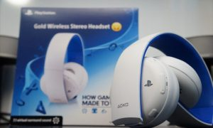 PlayStation Gold Wireless Headset White