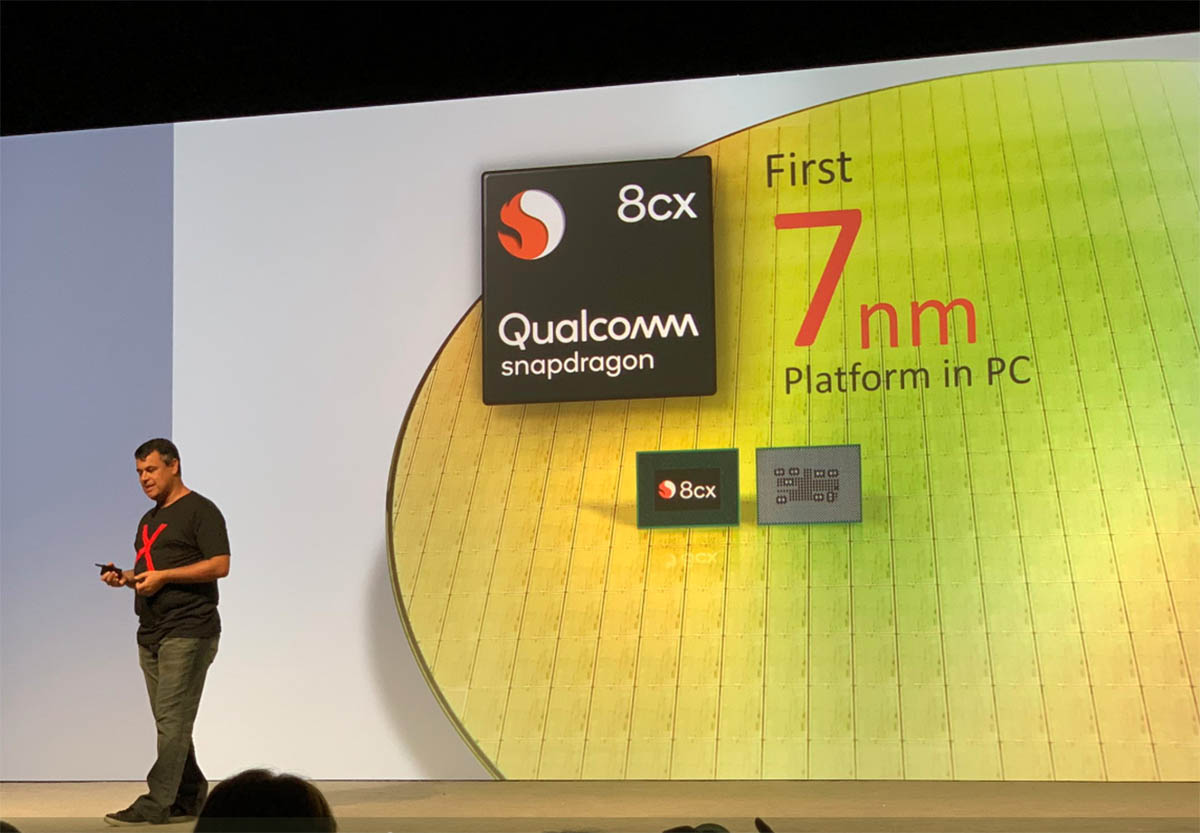 Qualcomm annuncia lo Snapdragon 8cx, il primo vero SoC per competere con le CPU Intel su Windows 10 1
