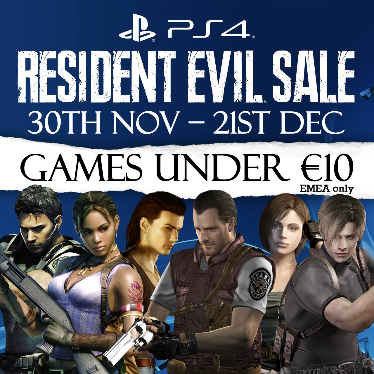 Resident Evil sconti PlayStation Store
