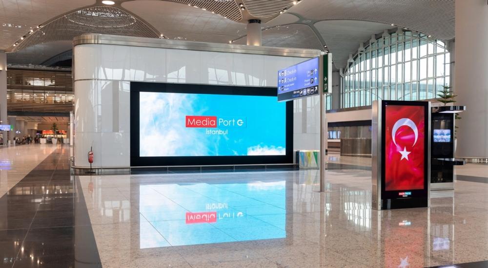 Samsung Display aeroporto Instambul