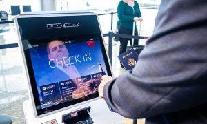 Terminal Biometrico aeroporto Atlanta